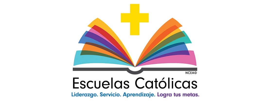 Catholic Schools Week logo in Spanish