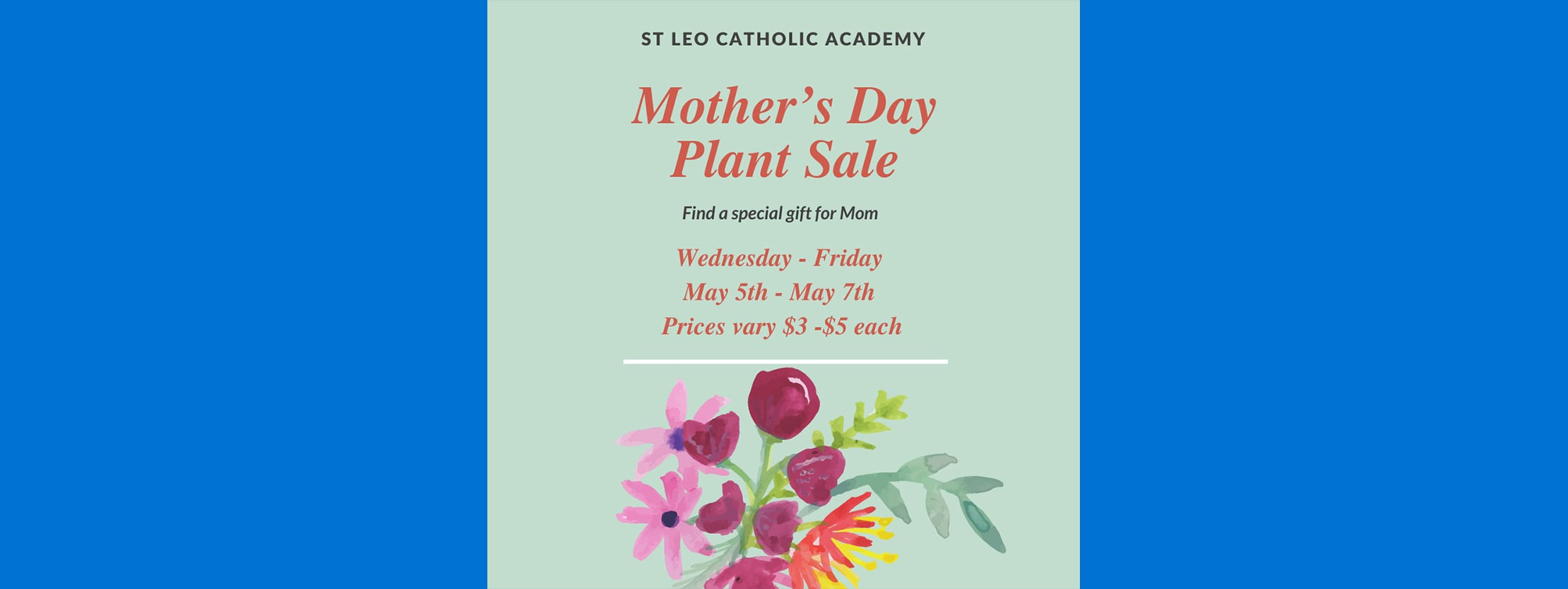 mother's day plant sale 2021