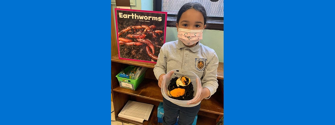 student earthworm project